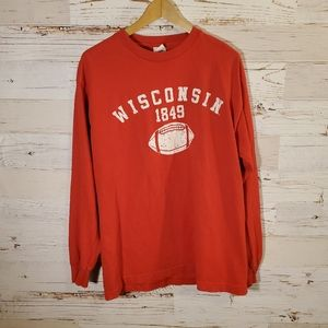 Tops - Wisconsin football long sleeve tee